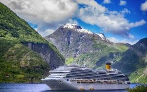 Krydstogt langs Norges kyst
