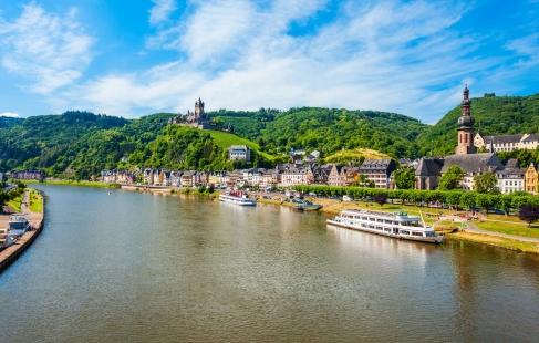 4 dages ferie ved Rhinen