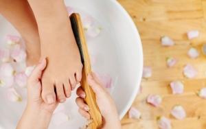 Luksuriøs fodbehandling
