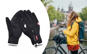 Vindafvisende handsker
