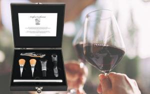 Elegant vinskænkersæt