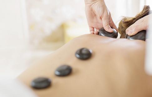 Få en afslappende massage