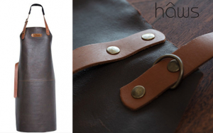 Håndlavet læderforklæde