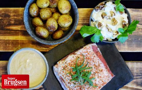 3-retters menu fra Slagteren
