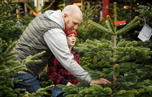 Danskproduceret juletræ