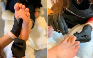 Manicure eller pedicure