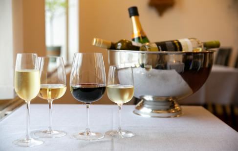 Vinsmagning og middag