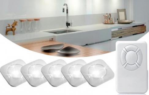 LED spotlamper