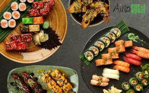 Sticks og Sushi til 2
