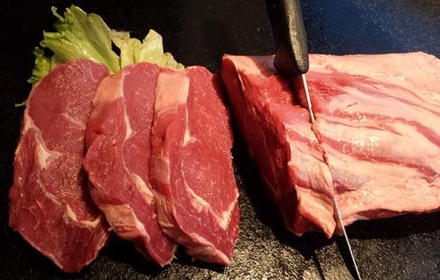 Kød på gaflen