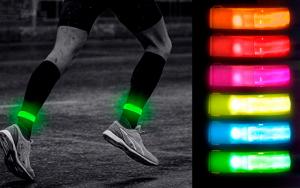 Refleksbånd med LED-lys