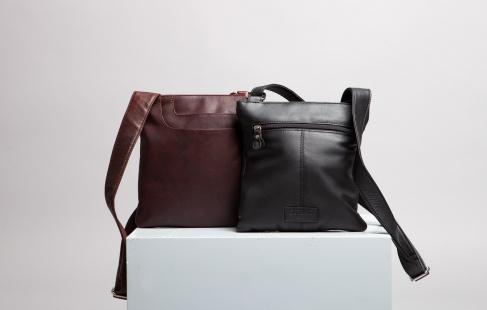 Smuk taske i kalveskind
