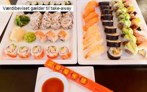 Skønne sushifristelser