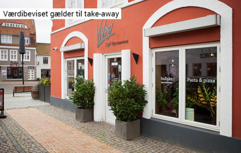 Pizzaglæde som take-away