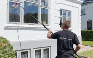 Få pudset vinduerne