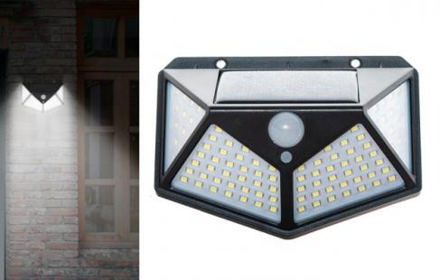 LED-solcellelampe