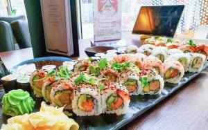 58 stk. velsmagende sushi