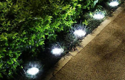Solcellelamper til haven