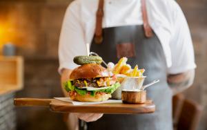 Få en stor burgeroplevelse