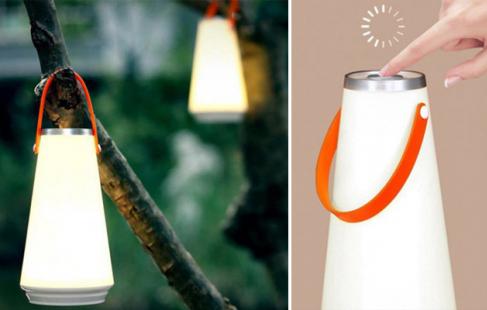 Genopladelig lampe