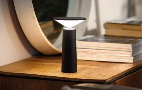 Genopladelig bordlampe