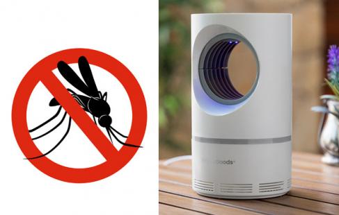 Anti-mygge lampe