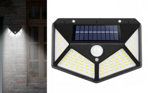 Væghængt solcellelampe