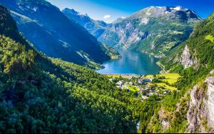 Krydstogt til Norges fjorde