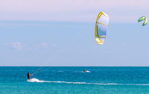 Kitesurfing-kursus