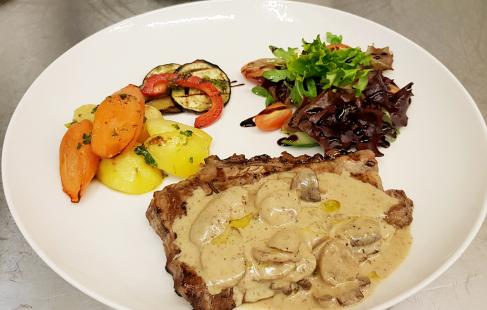 3-retters italiensk middag