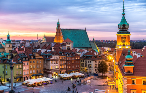 Rejse til Warszawa