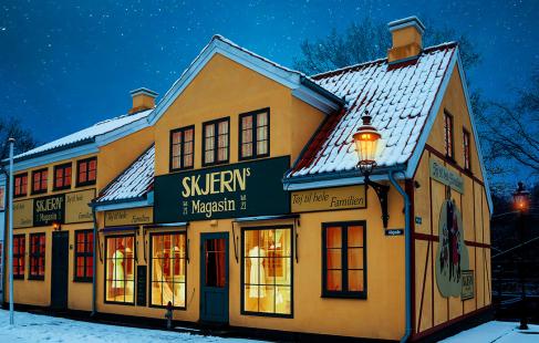 Jul i Korsbæk på Bakken