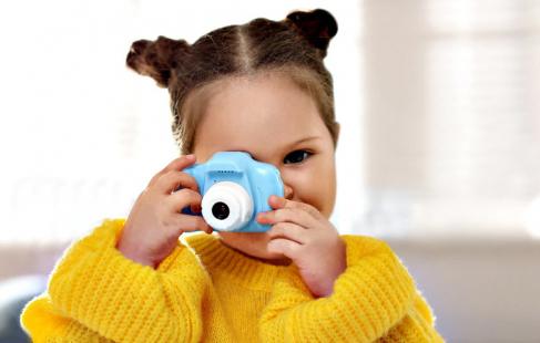 Digitalkamera til børn